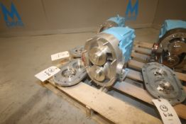 "WCB Positivie Displacement Pump Head, M/N 060, S/N 8156 CRD 01, with Aprox. 2-1/2"" S/S Clamp Type"