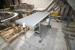 """Straight Section of Conveyor, Overall Dimenisons: Aprox. 72"""" L x 42"""" W x 36"""" H, with Baldor Drive,"""