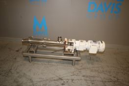 Late Model Moyno Sanitary Series Model FB1E SSE 3S BB Progressive Cavity pump,