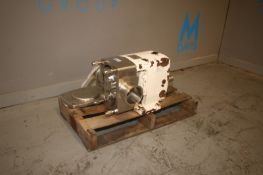 "APV Positive Displacement Pump Head, 4"", M/N M-3S/156/7, S/N F-7048-89, Max. Speed: 720 RPM, Max."