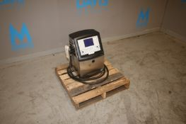 VideoJet Ink Jet Coder,M/N 1520, S/N 1606552C22ZH, 100-120V200-240 Volts, 1 Phase, with Ink Head &