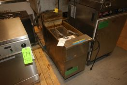 Pitco Dual Basket S/S Fryer,with Installation & Operation Manual, with (2) Frying Baskets, Overall