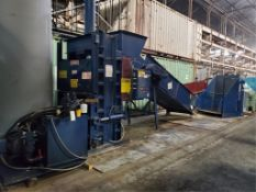 Waste Processing Equipment Max Pak Vertical Hydraulic Baler System, M/N MP60NFS, S/N 12056290, 30