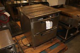 Secotainer 2-Door S/S Oven,M/N S-1101, S/N S-837, with Top & Bottom Oven Compartment, 208 Volts, 3
