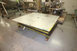 "Southworth 4,000 lb. Capacity S/S Lift, Overall Platform Dims.: Aprox. 72"" L x 72"" W, Mounted on"