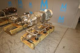 Waukesha Cherry Burrell 20 hp Positive Displacement Pump, M/N 220U2, S/N 369821-04, with Sterling