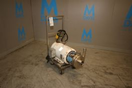 APV 20 hp Centrifugal Pump, M/N PP 944-99, S/N 8V2, with Baldor 3520 RPM Motor, 230/460 Volts,