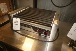 """APW Wyott Hot Dog Warmer,with (10) Aprox. 19"""" L Rollers, Mounted on S/S Frame(INV#65977)(Rigging,"""