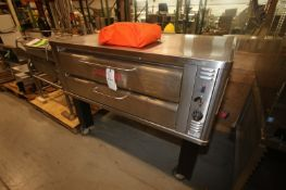 Blodgett Pizza Oven,M/N 961-P, S/N 091409AJ0055, with (2) Levels with S/S Covers, with Fire Blanket,