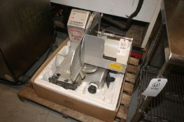 Bizerba S/S Meat Saw,M/N VS12 F, S/N 10653432, 120 Volts, 1 Phase (INV#67781)(LOCATED AT MDG AUCTION