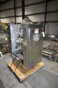 """24"""" W S/S Sheeter, with Bottom Mounted Motor,with (2) S/S Infeed & Outfeed Conveyor Frames,"""