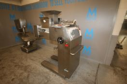 """Rondo Dough Roller/Sheeter,M/N PYV350 B, with (4) Plast Rolls Aprox. 14"""" L, Mounted on Portable S/"""