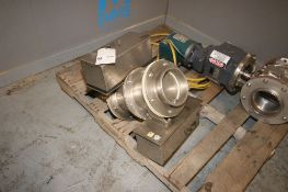 "S/S Aprox. 6"" Clamp Type Inlet/Outlet Valve (INV#66889)(LOCATED AT MDG AUCTION SHOWROOM--"