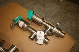 "Tri-Clover 2.5"" S/S Flow Diversion Valve, M/N 762TR-227M-2-1/2-316L-1-2 (INV#68770) (Located at"