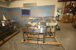 Mettler Toldeo Hi-Speed Check Weigher, M/N XS, S/N 12005321, 120 Volts, 1 Phase, with (2) Sections