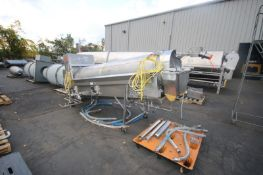 Robins S/S Rinse Reel,M/N 1985, S/N 13085, with Fristam 3 hp Centrifugal Pump, S/N FPX7221204341,