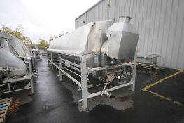 Lyco Rotary S/S Blancher, Model 8600, S/N 24 FT Blancher, B0991A1911-24 S, Description: RDB24UTHFT-