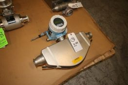 "Endress+Hauser Flow Meter, M/N PROMASS 80, Order Code: 80E50-AFTSAARABBA8, with Aprox. 2"" Clamp Type"