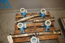 "Endress+Hauser PROMASS S/S Flow Meters, Order Code: 63MT80-SAA00A25B1W, with 3"" S/S Bolt Type"