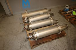 S/S Filter Housings, (3)-Ktron-Salina S/S Filter Housings, Part Number: 5214-214M.0003, Overall