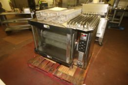 BKI Rotisserie Oven, M/N DR-34, S/N A, with S/S Racks, 208 Volts, 3 Phase (Located on 1st Floor--