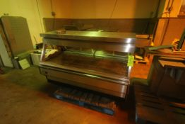 BKI S/S Deli Counter with Internal Heating, M/N 8SW-6, 120/208 Volts, 3/1 Phase, Overall Dims.: