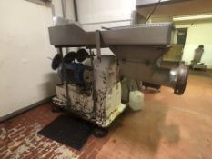 """Buffalo Meat Grinder, M/N NO HV-11, Crown Triton 40 HP Motor, with Aprox. 10"""" Dia. Discharge, 1480 /"""