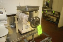 Hobart Table Top Grinder/Copper, M/N 432, S/N 1172209, Speed 1725, 220 Volts, 3 Phase, with 1/2 hp