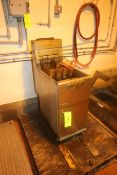"""Pitco S/S Double Basket Fryer, Overall Dims.: Aprox. 30"""" L x 15"""" W x 46"""" H (Located on 1st Floor--"""