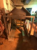 """S/S Pallet Dumper, Pallet Chamber: Aprox. 48"""" L x 44"""" W x 45-1/2"""" H, with Hydraulic Power Pack"""