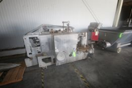 Banz & Higers 8-Head Automatic Filling & Wrapping Machine, Type 8382, Filling Canal Dims.: Aprox.