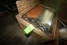 "S/S Plates, Overall Dims.: Aprox. 34"" L x 12"" W, Located in Crate (LOCATED IN WINNSBORO, TX)"