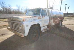 Ford 600 Milk Truck, VIN #: F61DKE16965, with S/S Tanker in Rear, with Pump Discharge (NOTE: SOLD