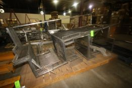 Lot of Assorted Protective Cages, Mounted on Wooden Skid (LOCATED IN WINNSBORO, TX)