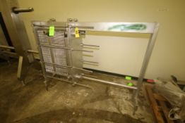 GEA AHBORN 3-Section S/S Plate Heat Exchanger, with Aprox. (25) Installed S/S Plates (LOCATED IN