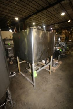 Breddo 250 Gal. S/S Likwifier, M/N LDD, S/N D-562832-11313, with Breddo 20 hp Bottom Mounted