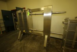 AGC 2-Section S/S Plate Heat Exchanger, M/N PRO31M, S/N 07382, Max. Temp. 250 F, Max. Pressure 150