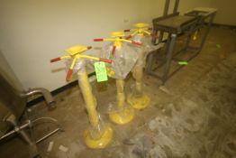 NEW Yellow Trailer Jacks (LOCATED IN WINNSBORO, TX) (Rigging, Handling & Site Management Fee: $50.