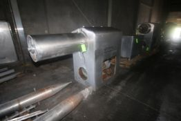"Westfalia S/S Single Barrel Whipper, Tube Dims.: Aprox. 43"" L x 15"" Dia., with S/S Base (LOCATED"