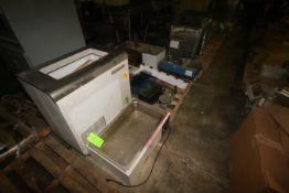 Lot of Assorted Lab Equipment, Includes S/S Water Baths, Reach-In Cooler, Beaker Racks, Triple