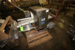 """Cintex S/S Metal Detector, M/N CS2060, S/N 49792, Product Opening: Aprox. 16"""" W x 13"""" H, Mounted"""