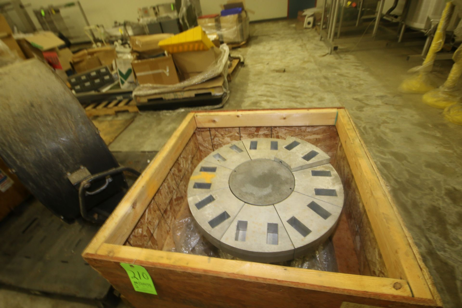 Lot 210 - 16-Mold Head Assembly for Butter Molder, (1) Unit Missing Parts--See Photographs (LOCATED IN