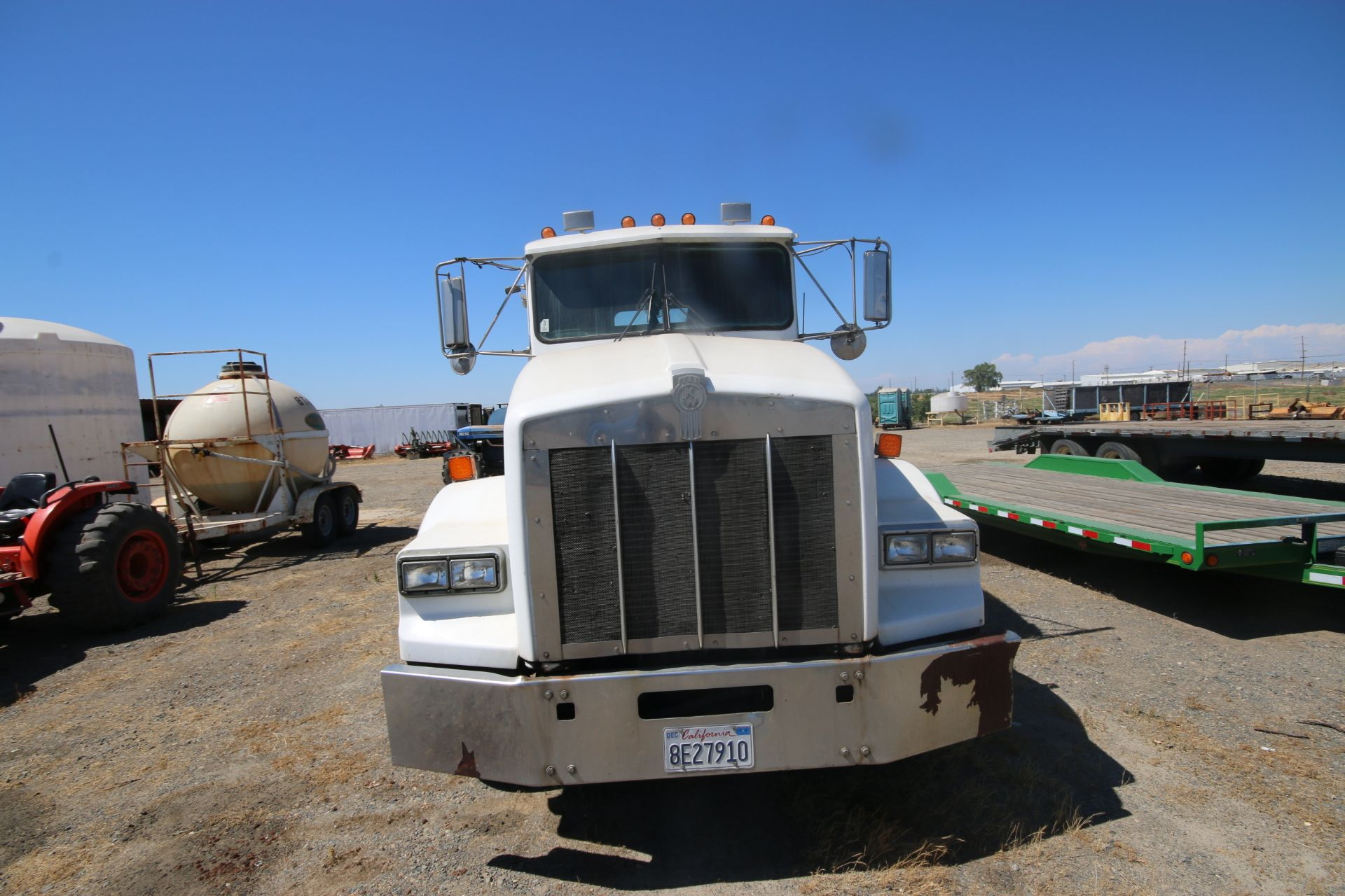 1996 Kenworth 3-Axle Roll-Off Straight Truck, VIN #: 1XKDDB9XOTS687107, with 24,722 Miles, License - Image 6 of 30