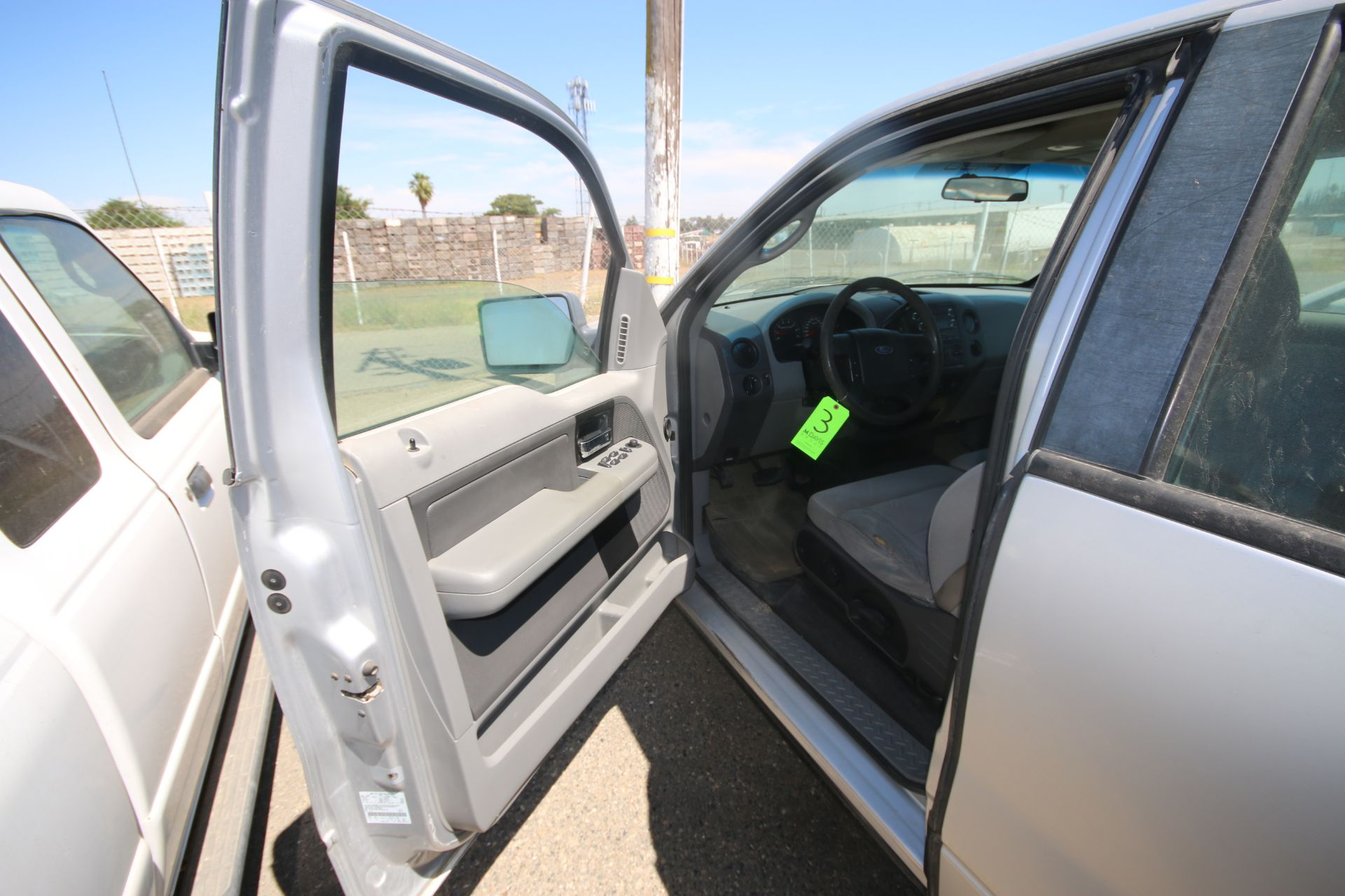 2008 Ford F150 Pick Up Truck, VIN #: 1FTRX12W7BFB9710, with 214,817 Miles, Started Up as of 06/24/ - Image 16 of 24