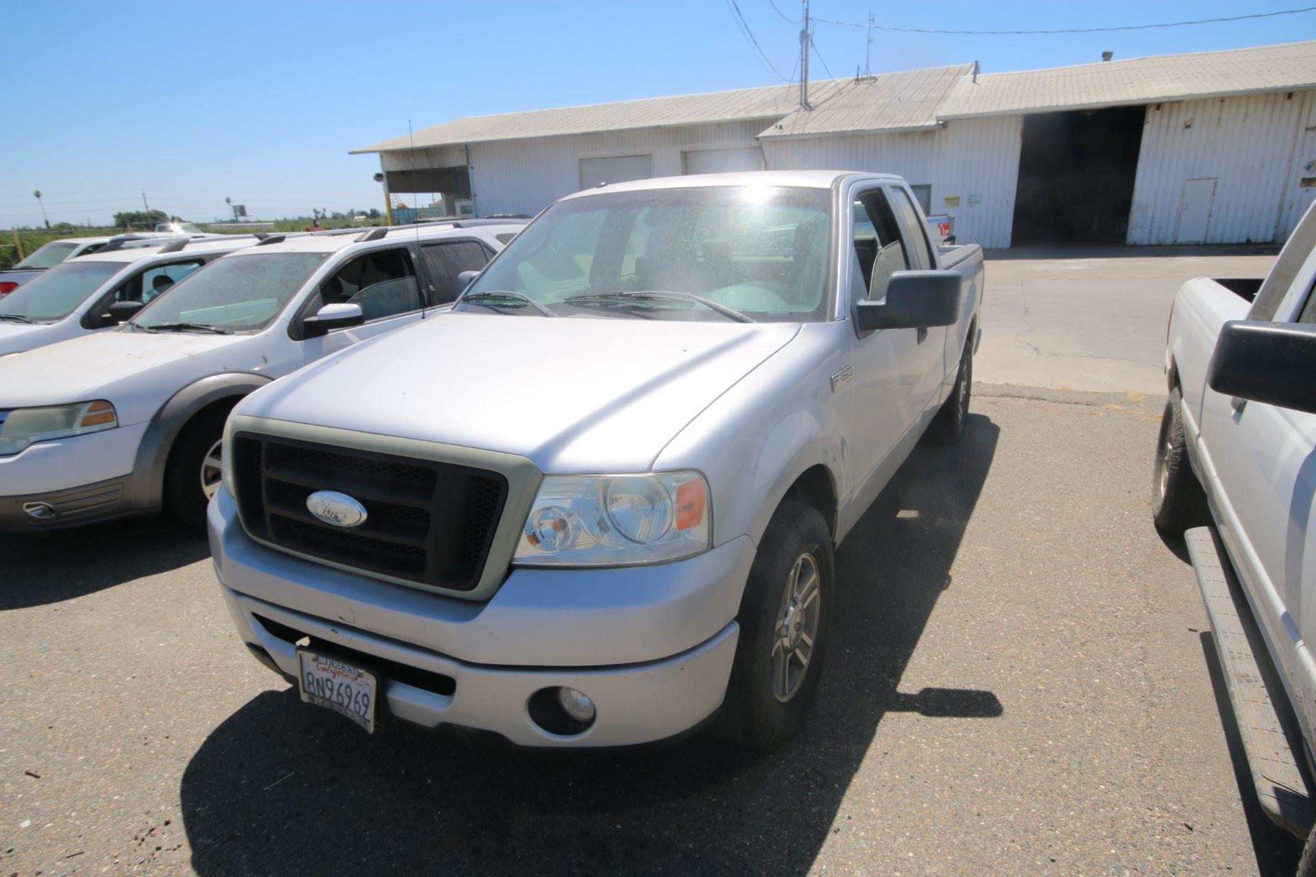 2008 Ford F150 Pick Up Truck, VIN #: 1FTRX12W7BFB9710, with 214,817 Miles, Started Up as of 06/24/