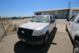 2006 Ford F150 L/B Pick Up Truck, VIN #: 1FTRF12256NA38863, with 167,638 Miles, Started Up as of