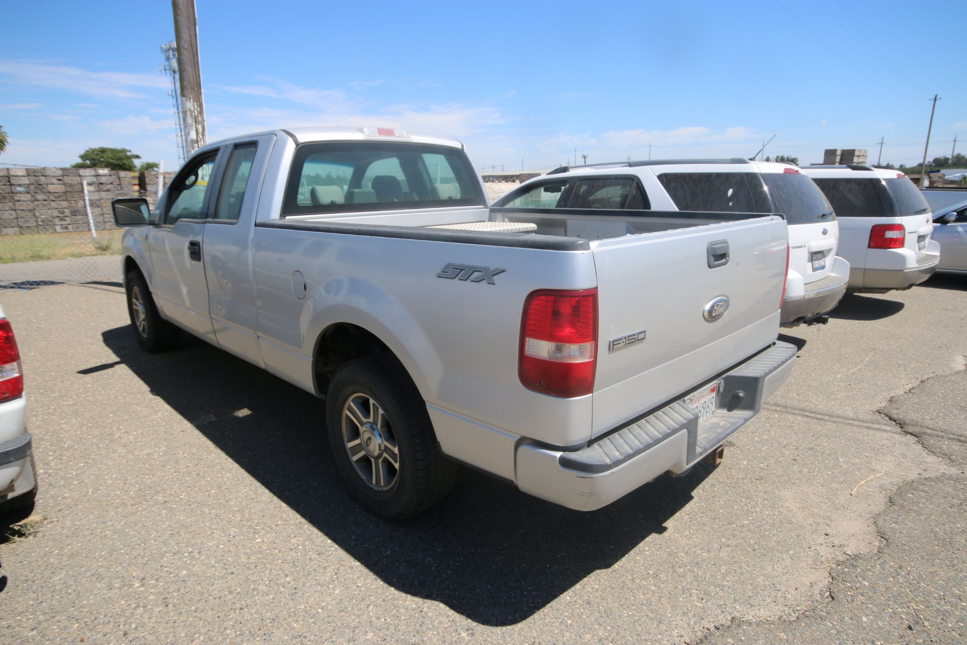 2008 Ford F150 Pick Up Truck, VIN #: 1FTRX12W7BFB9710, with 214,817 Miles, Started Up as of 06/24/ - Image 4 of 24