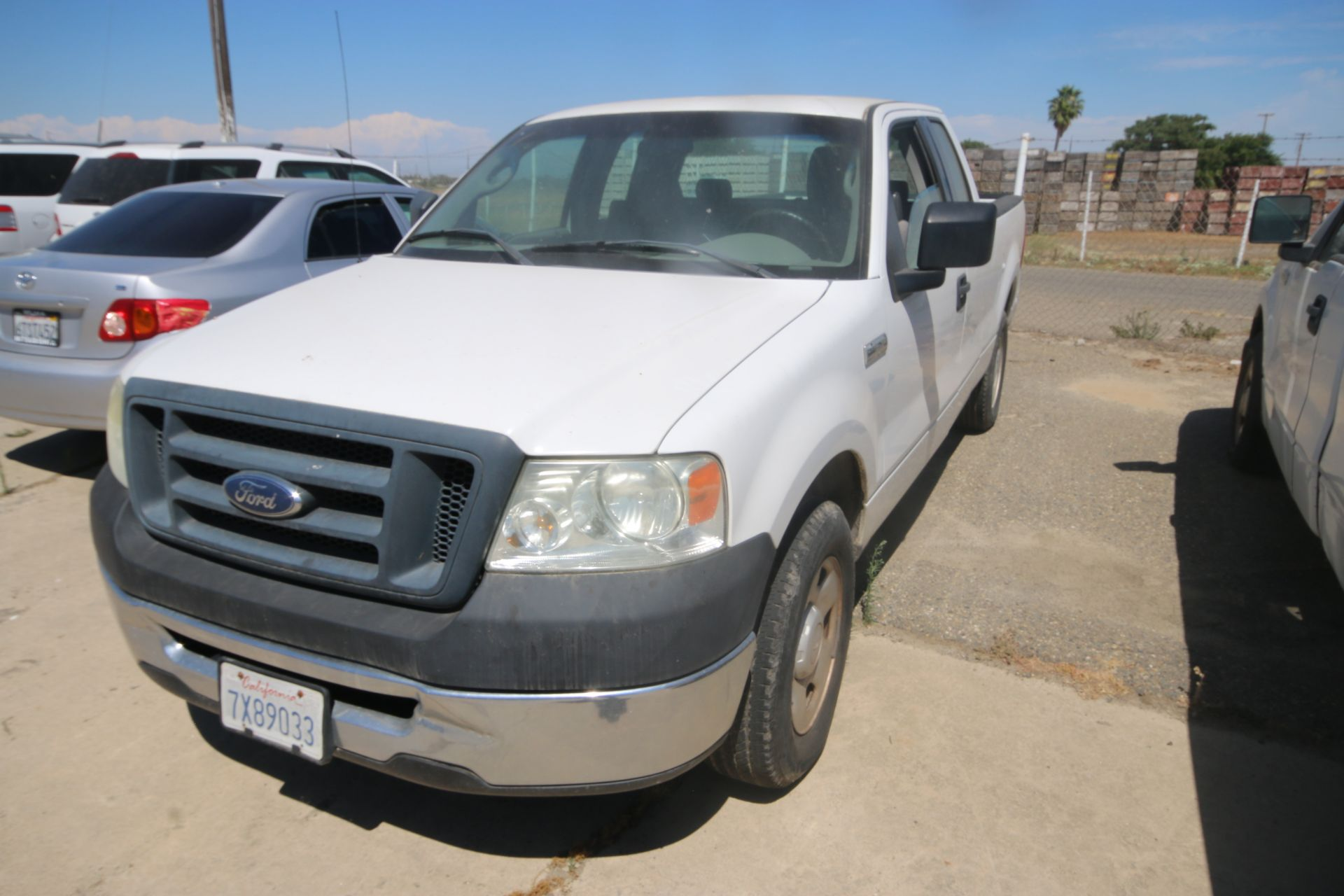 2006 Ford F150 S/C Pick Up Truck, VIN #: 1FTRX12W46FA38458, with 233,106 Miles, Started Up as of