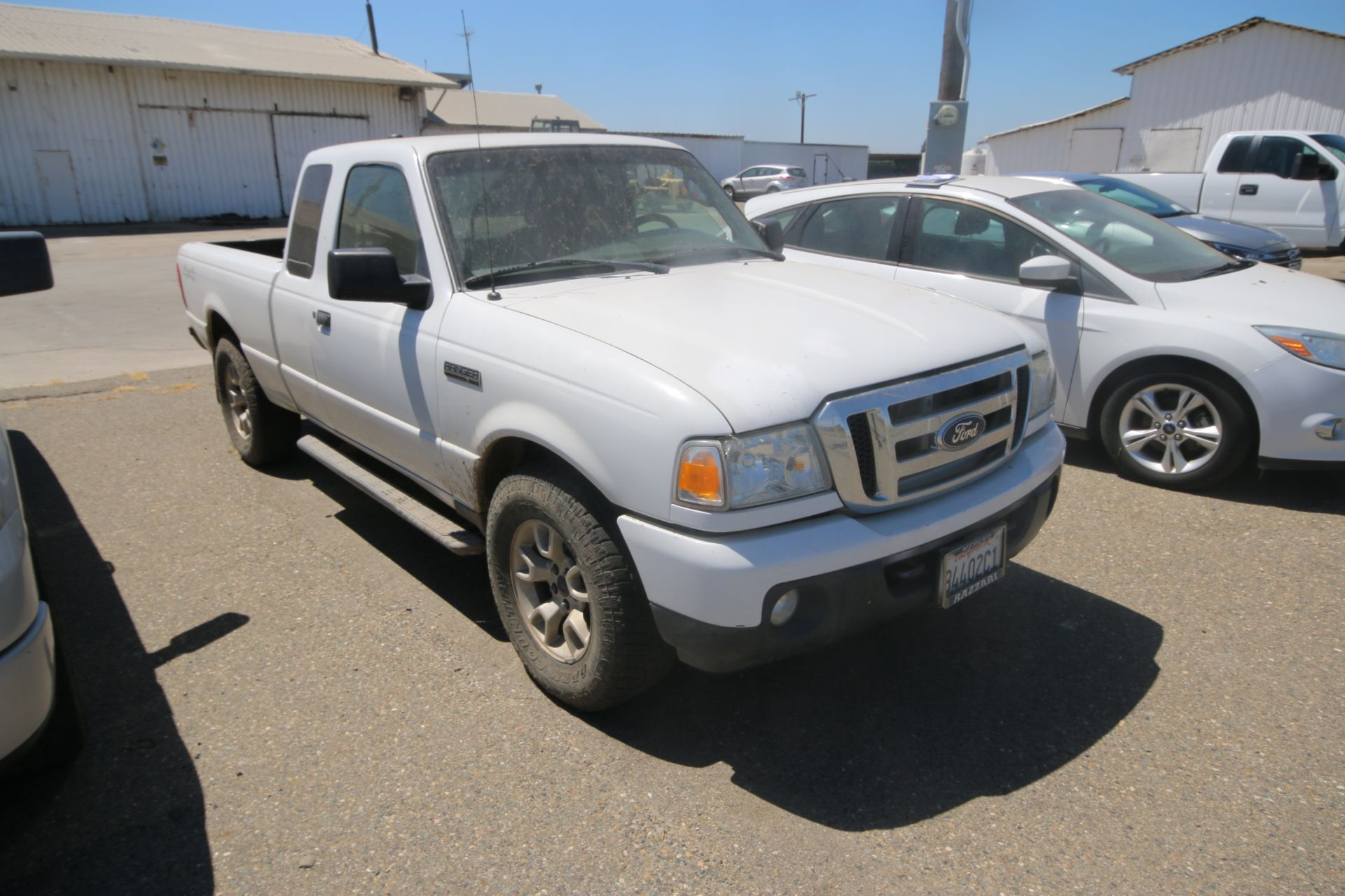 2011 White Ford Ranger Pick Up Truck, VIN #: 1FTLR4FE8BPA37482, with 160,443 Miles, Started Up as of - Image 2 of 24