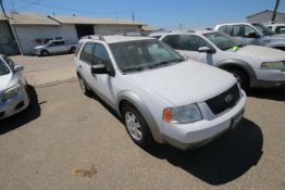 2006 Ford Freestyle, VIN #: 1FMDKO11X6GA41766, with 108,982 Miles, License Plate #: 5NGZ608, Started